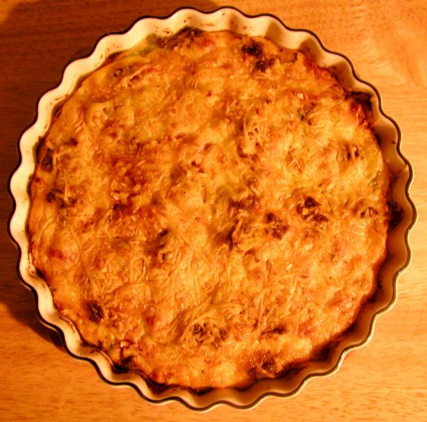 Crustless Quiche Chorizo