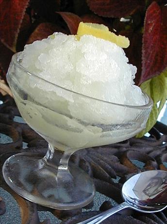 Italian Lemon Ice (Granita)