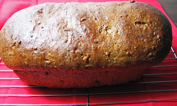 Walnut Rye Bread
