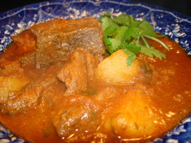 Beef With Potato Tagine