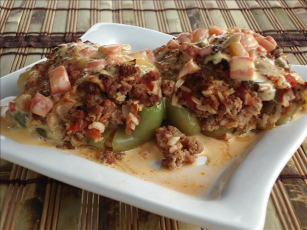 Western Stuffed Bell Peppers
