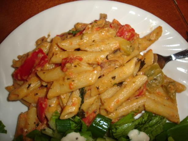 Creamy Roasted Vegetable Penne