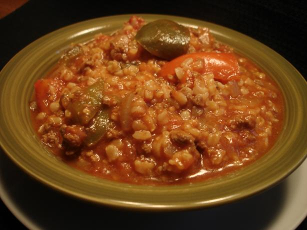 Stuffed Bell Peppers Soup