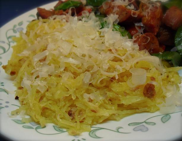 "Spaghetti Squash ""carbonara"" (Diabetic)"