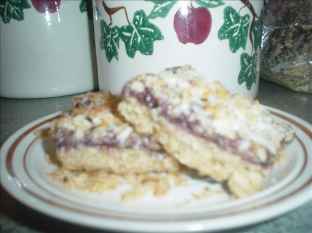 Raspberry Coconut Bars