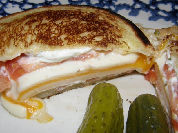 Einstein Bros Bagels Ultimate Toasted Cheese Sandwich