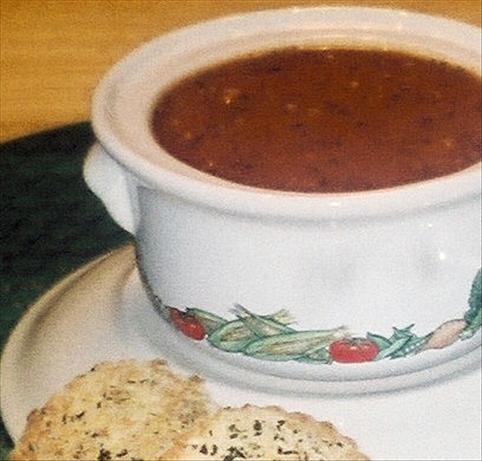 Faux-Fresh Tomato Soup