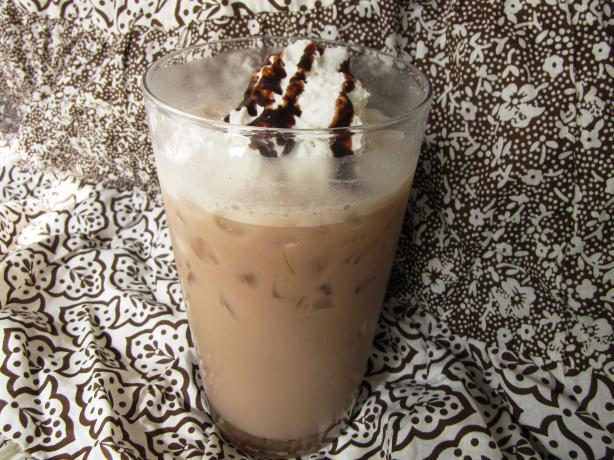 Chocolate-Coconut Iced Coffee