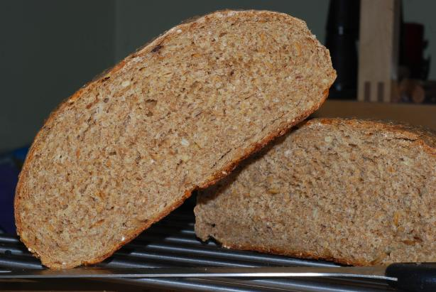 Multigrain Sunflower Sourdough Bread