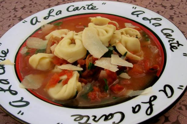 Holiday Tortellini Soup