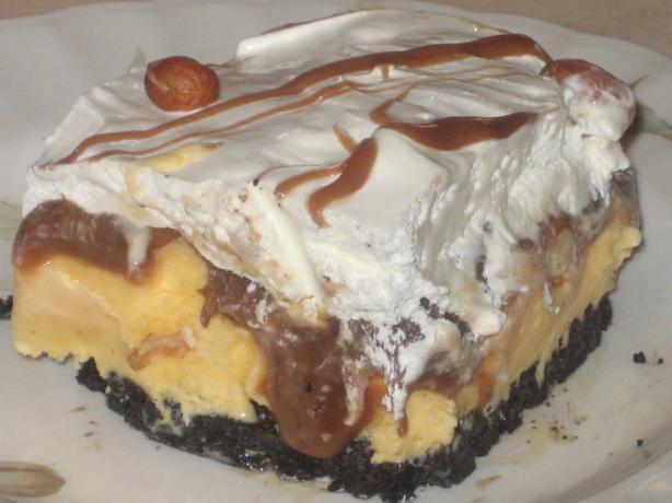 Buster Bar Dessert (Ice Cream Cake)