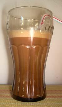 Maca Milk Shake