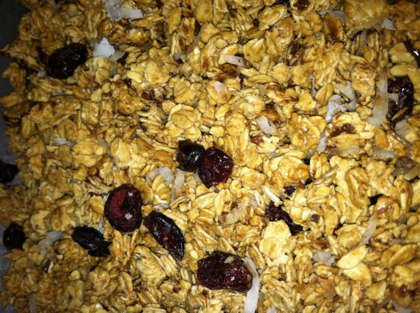 Homemade Granola Without Nuts