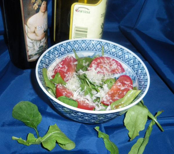 Arugula (Rocket) and Parmesan Salad