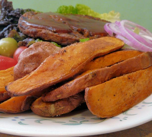 Cajun Spiced Sweet Potato Wedges