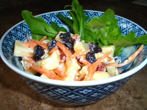 Carrot, Apple Salad