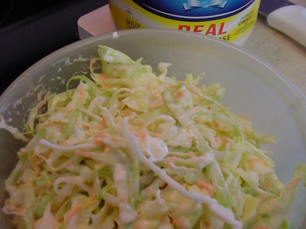 Linda's Fantabulously Easy Creamy Low Carb Confetti Cole Slaw
