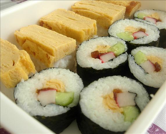 Tamago Yaki (Sushi Omelette)