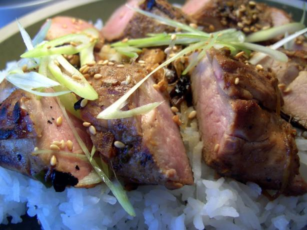 Butterflied Korean Pork Tenderloin