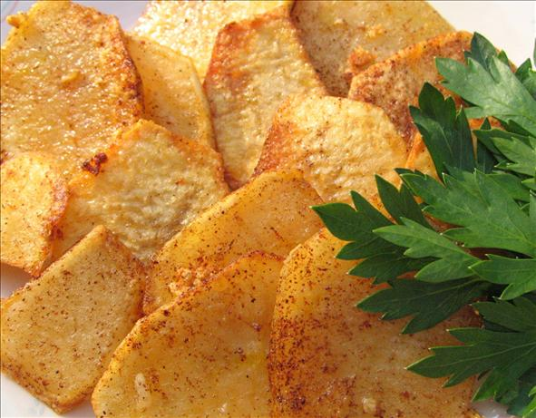 Golden Garlic Potatoes