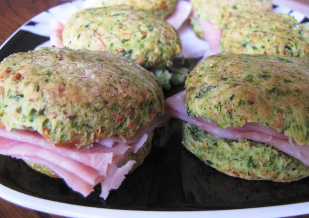 Green Elf Biscuits and Ham