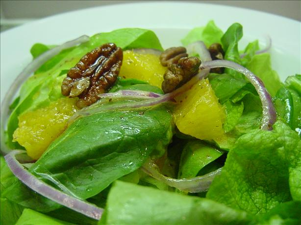 Orange Walnut Salad (Paula Deen)