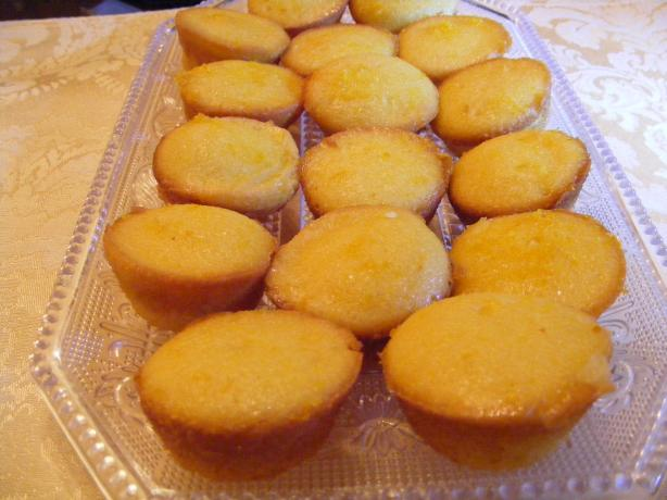 Orange Mini Tea Muffins