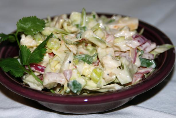 Guy's Chipotle-Lime Slaw