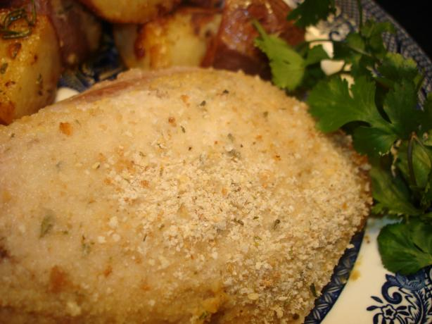 Mustard-Crusted Pork Chops