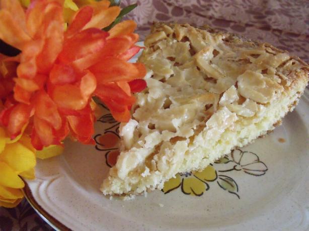 Toscakaka / Tosca Cake (Swedish Almond Cake)