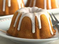 Lemon-Poppy Seed Baby Bundt Cakes
