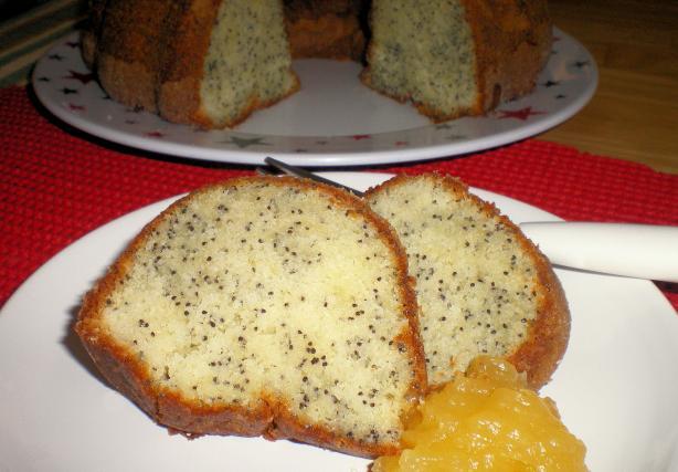 Moist Poppy Seed Bundt Cake