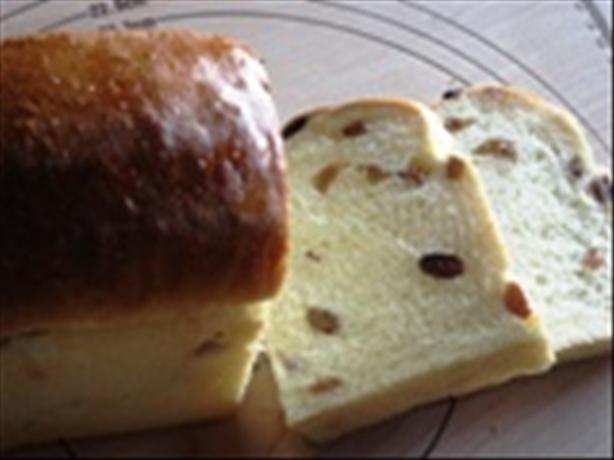 Soft Raisin Bread