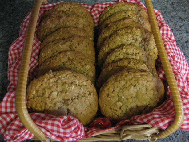 Great Big Oatmeal Cookies ( That are Both Great and Big )