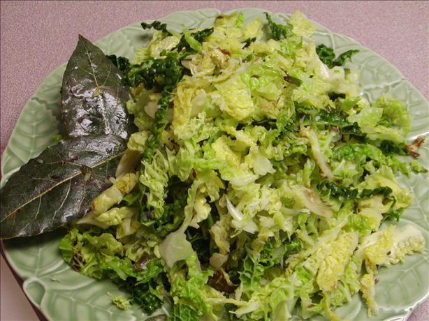 Spiced Cabbage and Coconut