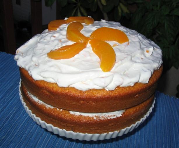 Peach Delight Cake