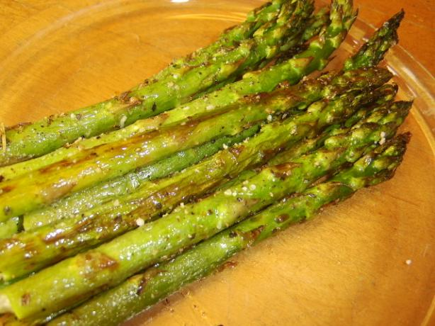 Asparagus, Oven roasted