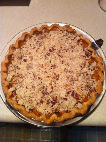 Dutch Apricot Pie With Crumb Topping