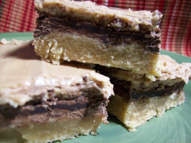 Triple Layer Peanut Butter Bars