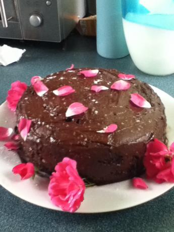 Chocolate Cake No Eggs or Butter