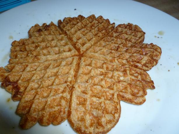 Oat and Cornmeal Waffles