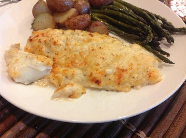 Baked Haddock in Cream Sauce(Iceland)