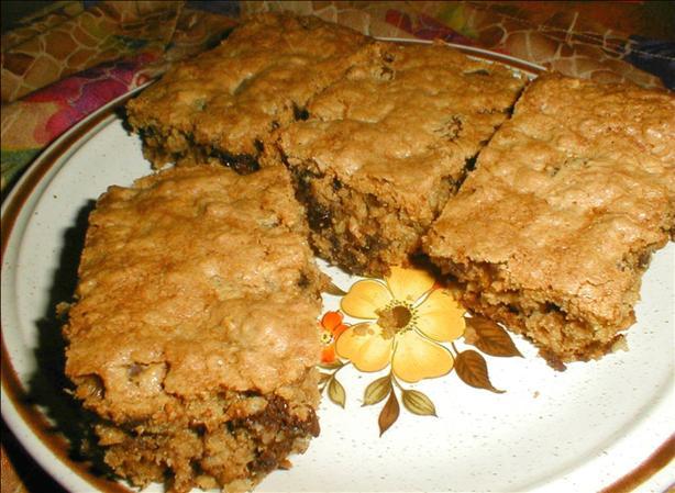 Oatmeal Raisin Chocolate Chip Bars
