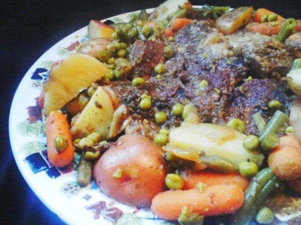Savory Chuck or Pot Roast With Vegetables