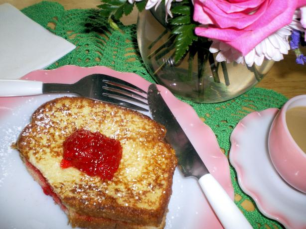 French Toast With Jam