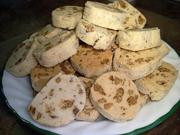 Vegan Maple Pecan Sables (Gluten Free)