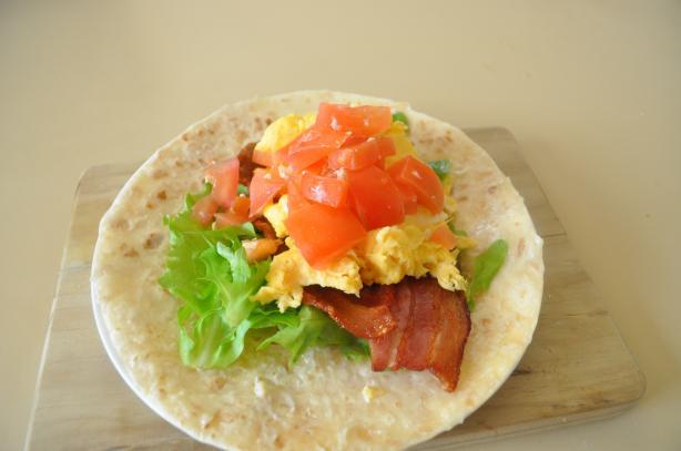 BLT Egg Wrap