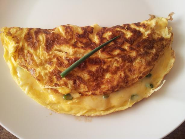 Cheese and Chive Omelet