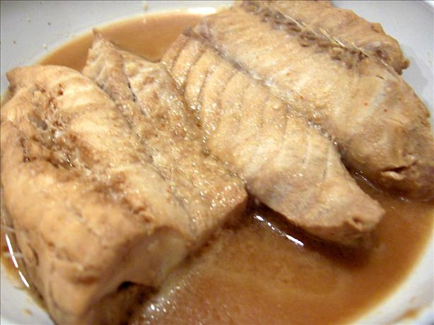Red Snapper with Sesame Ginger Marinade