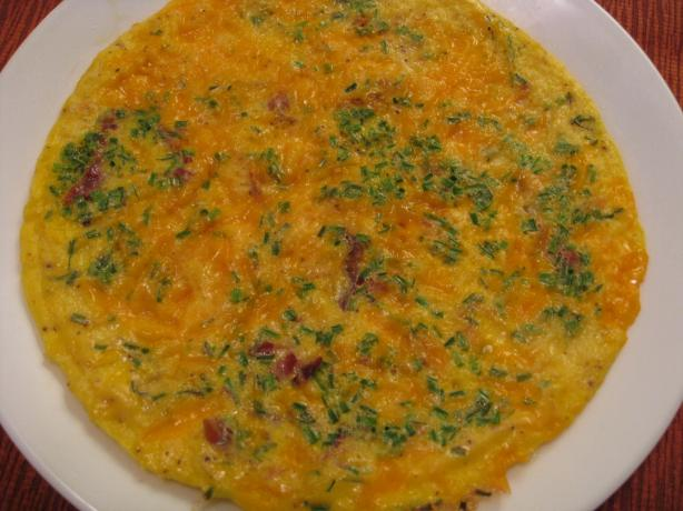 Cheddar and Chive Omelet